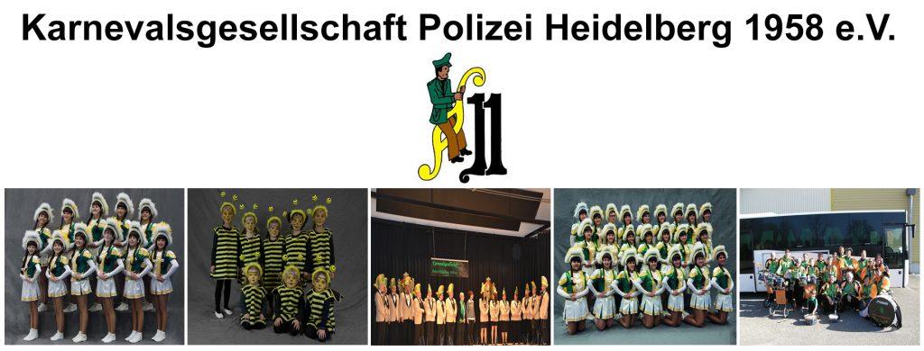 Karnevalgesellschaft Polizei Heidelberg - Mitglied im HKK Heidelberg