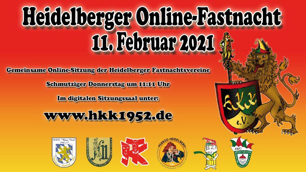 Online Fastnachtssitzung