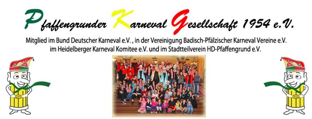 Pfaffengrunder Karneval Gesellschaft - Mitglied im HKK - Heidelberger Karneval Komitee