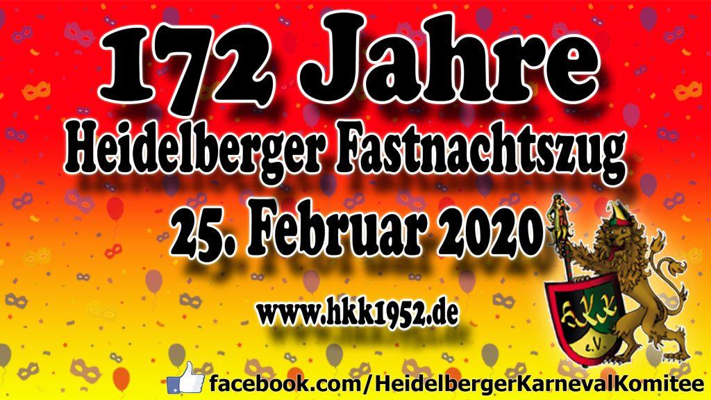 Heidelberger Fastnachtszug 2020
