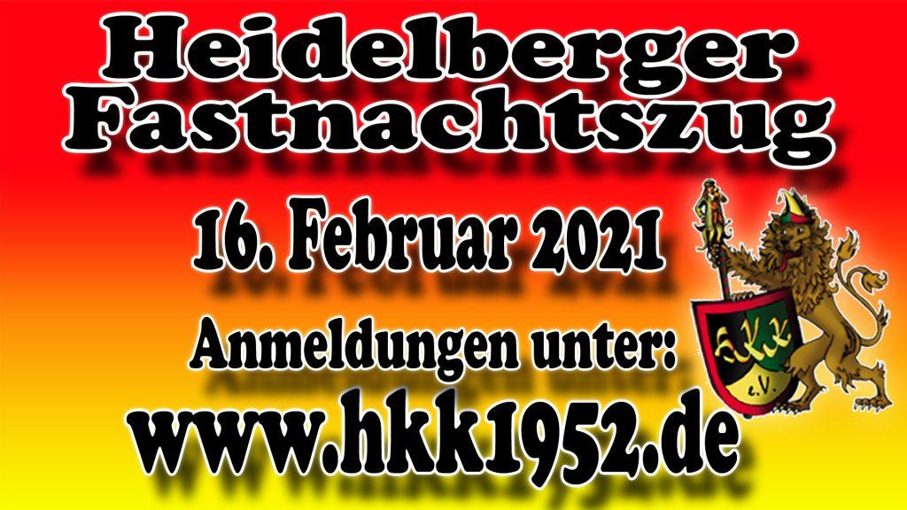 Heidelberger Fastnachtszug 2021 - Heidelberger Karneval Komitee
